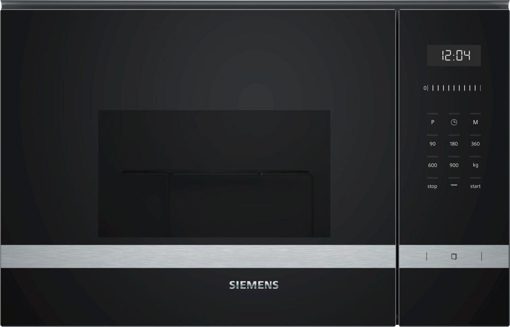 SIEMENS Mikrowelle BE555LMS0 Schwarz