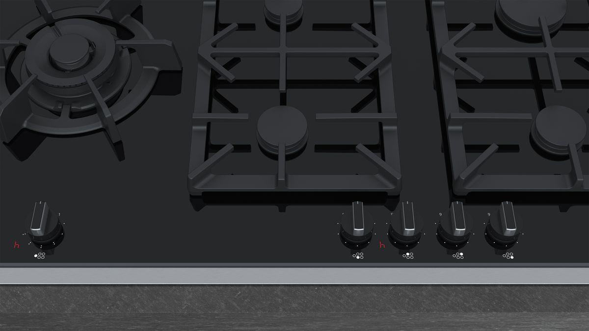 90 Cm Piano Cottura A Gas Vetroceramica N 90 T29ta79n0 Neff