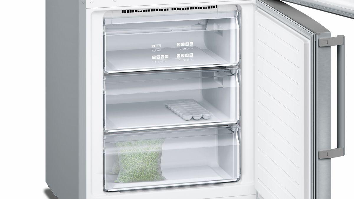 SIEMENS - KG49NXI30 - free-standing fridge-freezer with freezer at