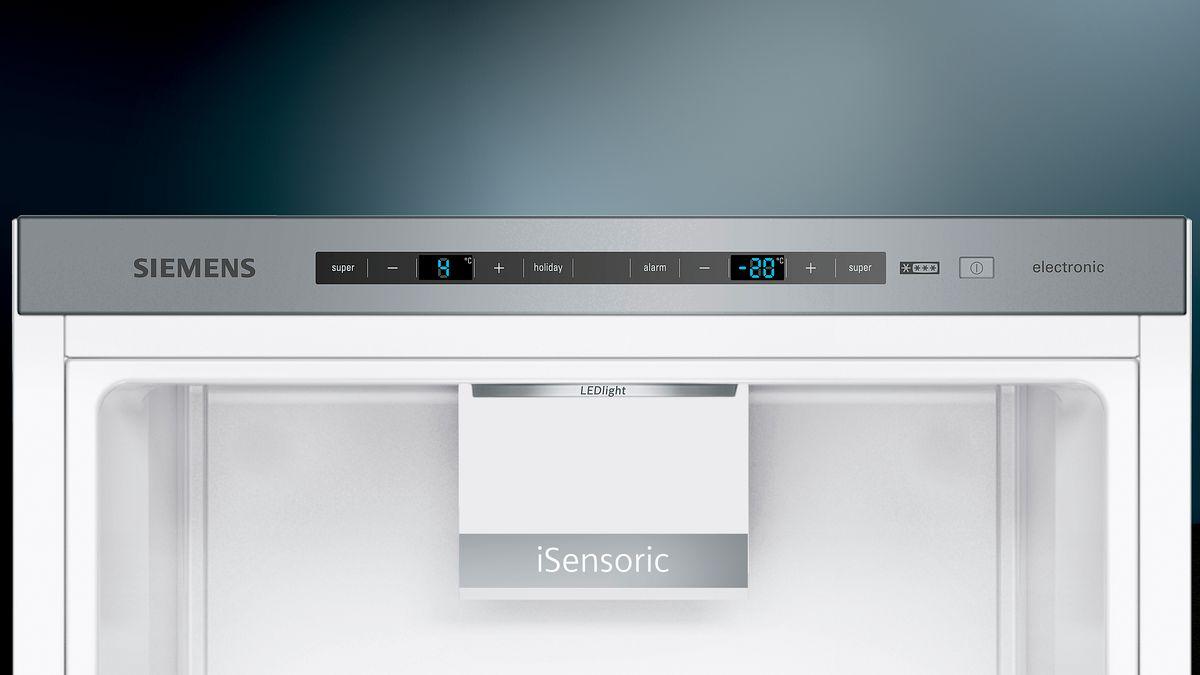 Siemens Kühlschrank Alarm Leuchtet : Türen weiß kühl gefrier kombination iq kg evw a siemens