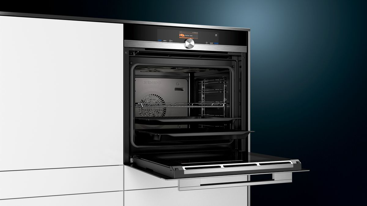 Siemens HS636GDS2 | Einbaubackofen mit Dampfgar Funktion