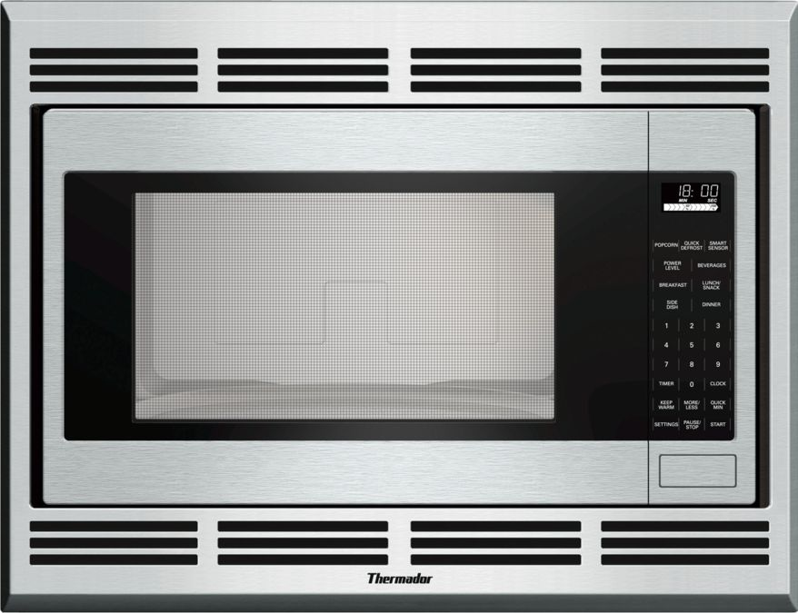 built in traditional microwave mbes thermador