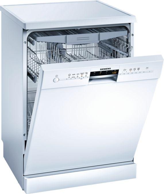 SpeedMatic 60 Cm Dishwasher Freestanding   White   IQ500   SN25M289EU    SIEMENS