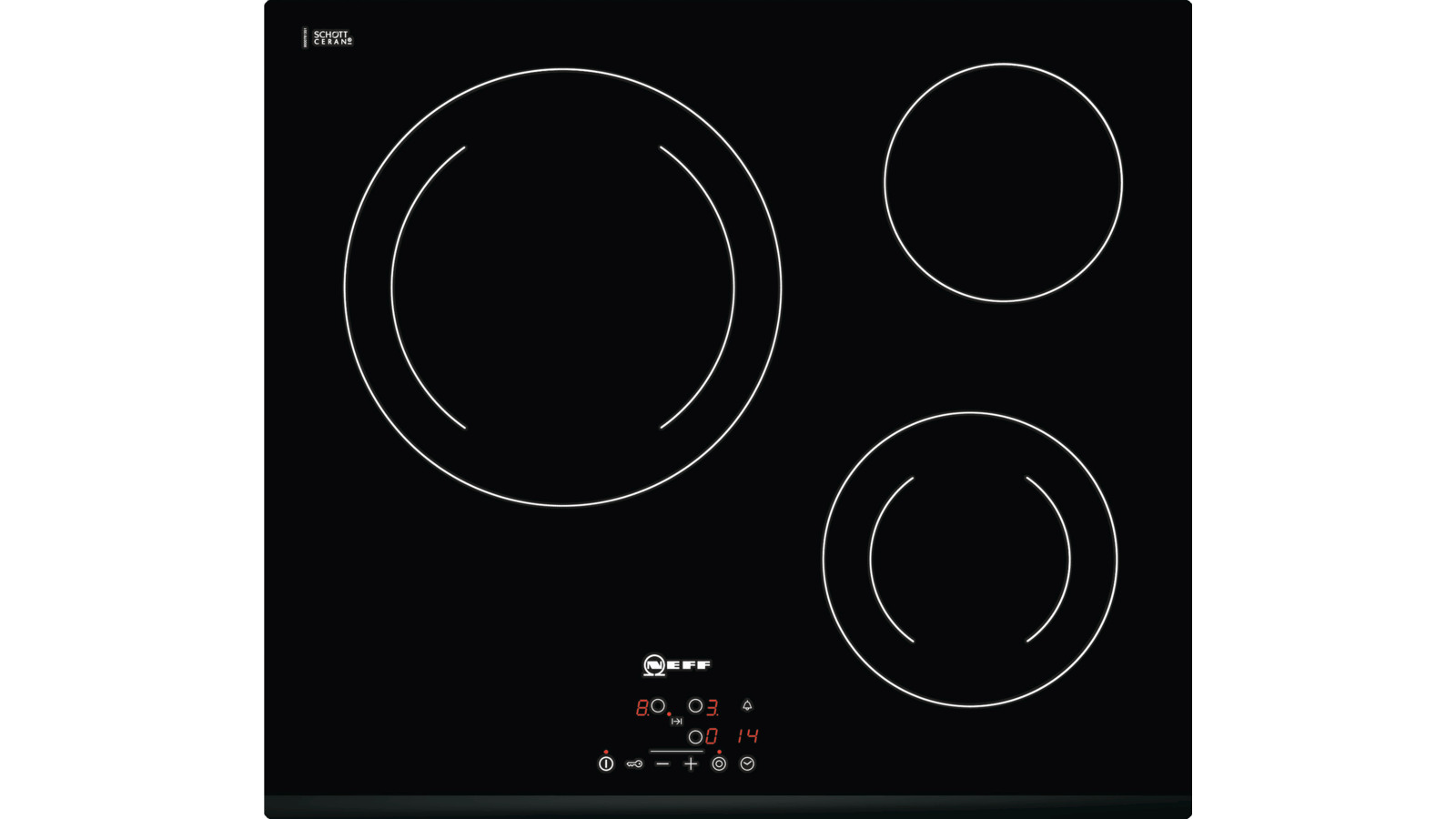 Demonter Plaque De Cuisson Electrique n 50 table électrique 60 cm noir t11b22x2