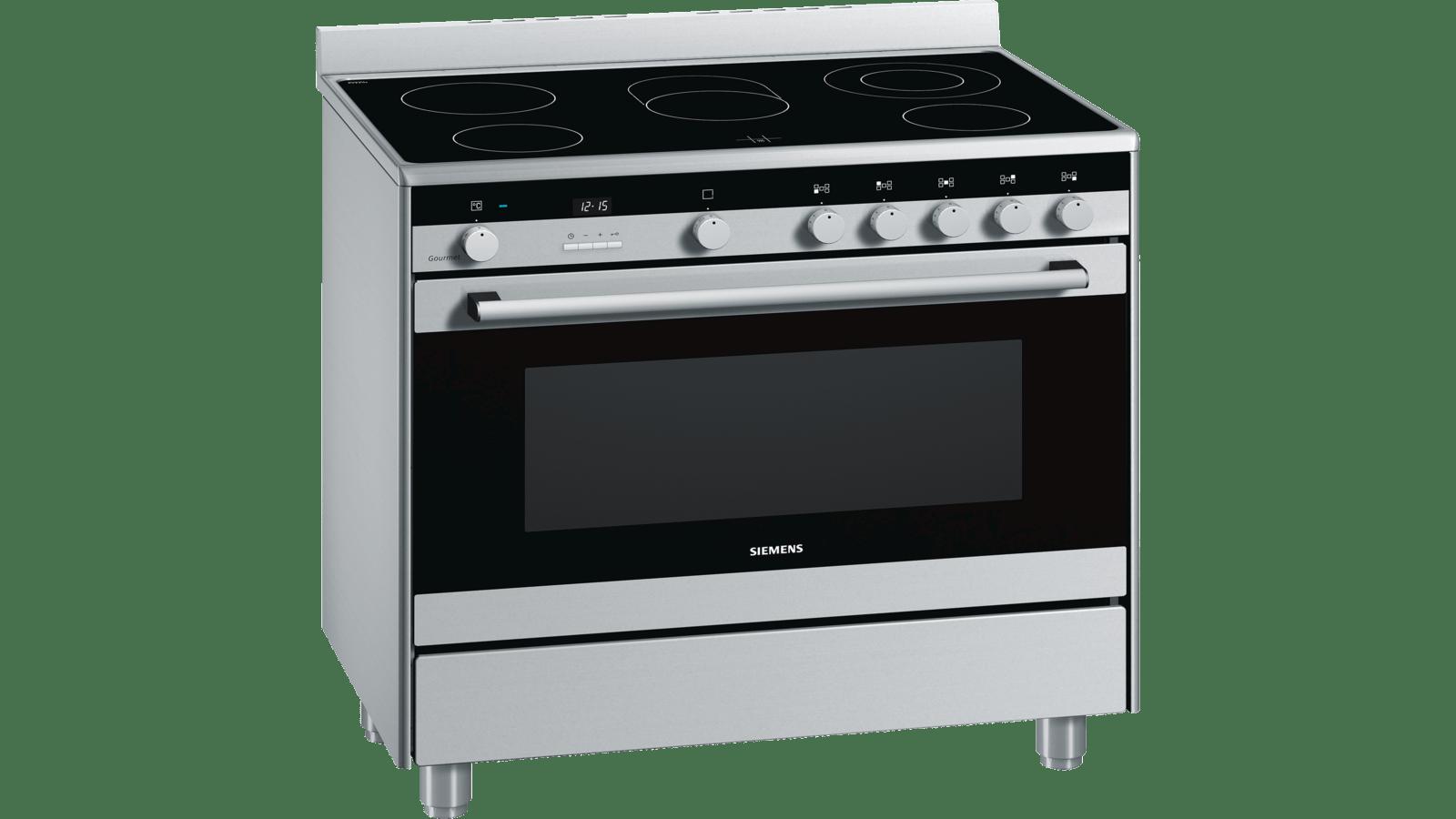 - SIEMENS - HY738356M - Range Cooker 90 Cm