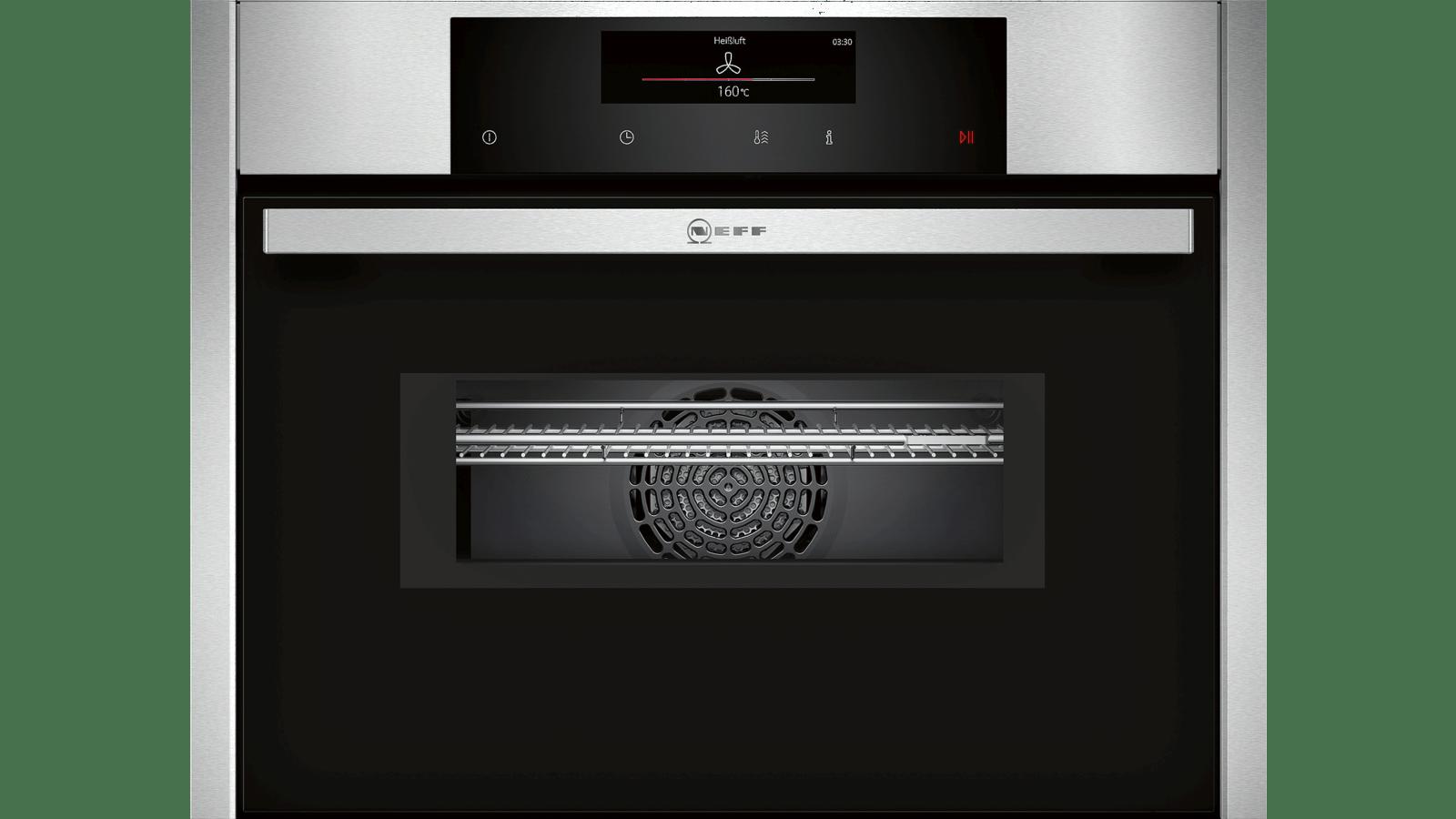 Hotte Avec Micro Onde Intégré n 90 four combi micro-ondes encastrable compact inox c26mt23n0