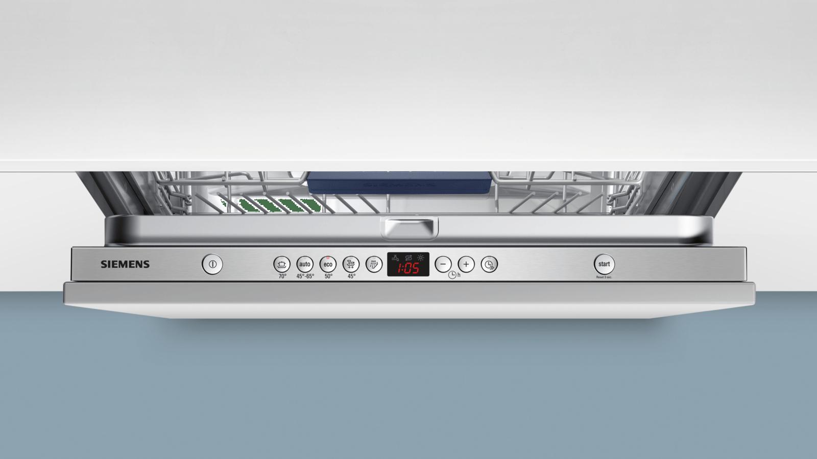 13 couverts//Programme automatique//AquaStop Siemens iQ500 SN65M037EU speedMatic Lave-vaisselle enti/èrement int/égr/é//encastrable Assistent A++