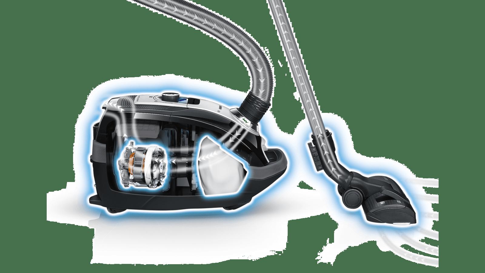 SIEMENS VSQ8ALL1 Bagged vacuum cleaner