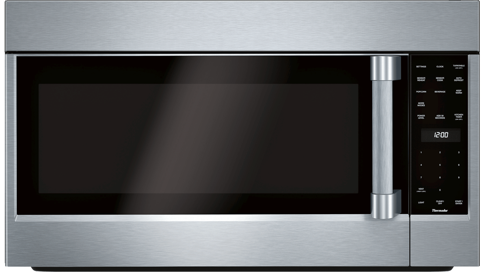 Hotte Avec Micro Onde Intégré micro-ondes à hotte intégrée mu30rsc - mu30rsc | thermador