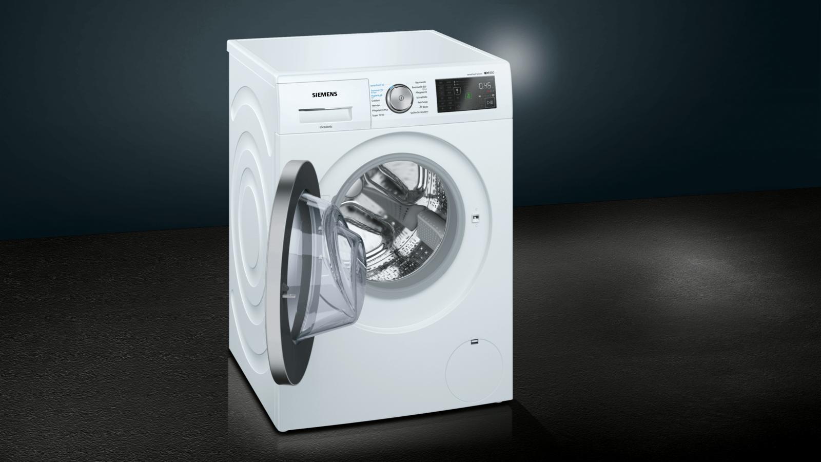 Nachlegefunktion 1.400 U//min sensoFresh Programm Hygiene Programm A+++ 137 kWh Siemens iQ500 WM14T7A1 Waschmaschine 8,00 kg Trommel reinigen-Programm