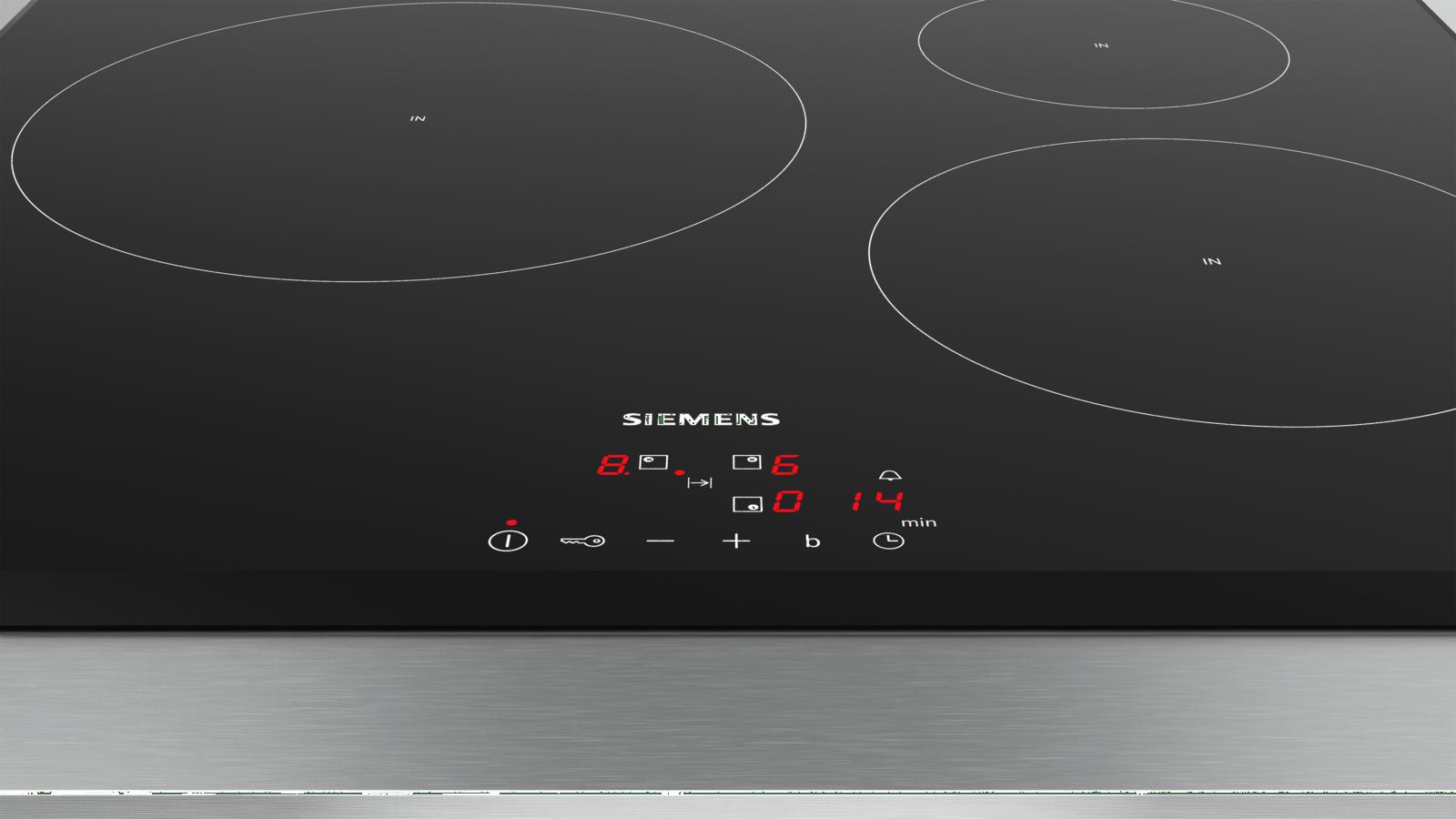 Comparatif Table De Cuisson Induction Et Vitroceramique iq100 table à induction 60 cm noir eu651bjb1e