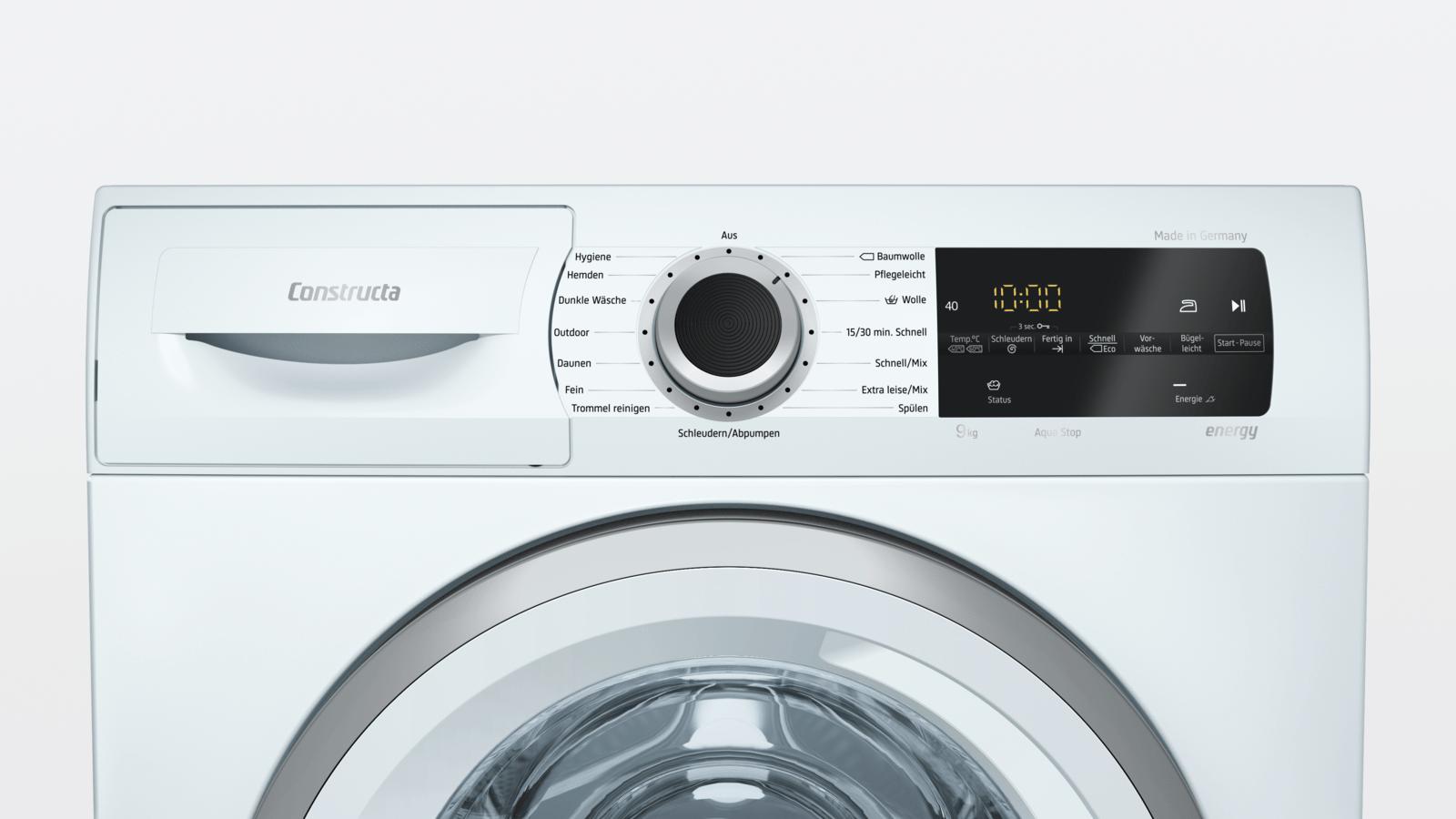Waschmaschine In Kuche Einbauen Vibration Caseconrad Com
