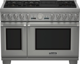 48 inch Professional Series Pro Grand Commercial Depth Dual Fuel Range PRD486NLGC