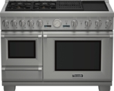 48 inch Professional Series Pro Grand Commercial Depth Dual Fuel Range PRD48NCSGC