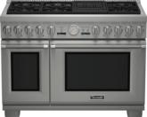 Cuisinière Professional entièrement au gaz de 48 po, série Pro Grand, de profondeur commerciale PRG486NLG