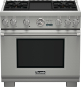 36 inch Professional Series Pro Grand® Commercial Depth All Gas Range PRG364JDG