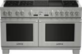 Cuisinière bi-énergie Pro Grand de 60po de série Professional de profondeur commerciale - PRD606RCG