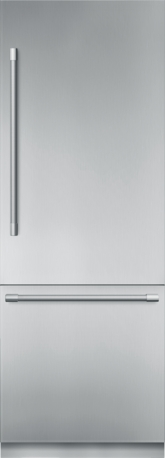 30 inch Stainless Steel Built in 2 Door Bottom Freezer, Pre-Assembled, Professional Handle T30BB920SS