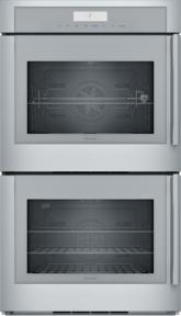 30 inch Masterpiece® Series Double Wall Oven, Left-Side Swing Door MED302LWS