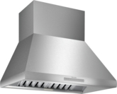 HPCN36WS 36-inch Professional® Chimney Wall Hood, Optional Blower