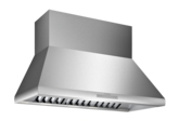 HPCN48WS 48-inch Professional® Chimney Wall Hood, Optional Blower
