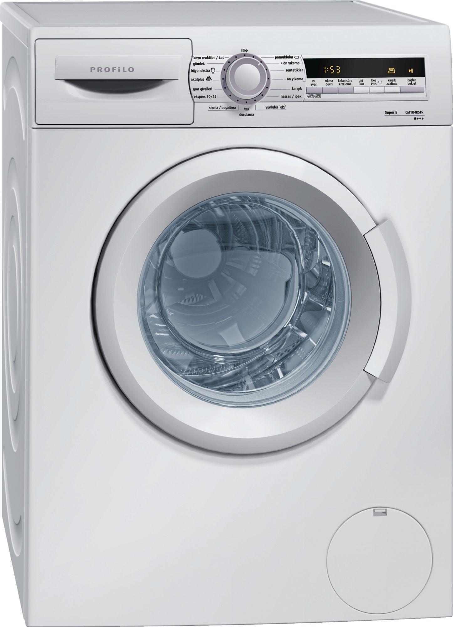 Profilo CM104KSTR A+++ 1000 Devir 8 kg Çamaşır Makinası Fiyatları