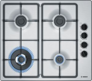 Bosch PBH6B5B60gas hob w integrated controls