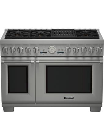 Cuisinière Professional bi-énergie de 48 po, série Pro Grand, de profondeur commerciale PRD486NLGC