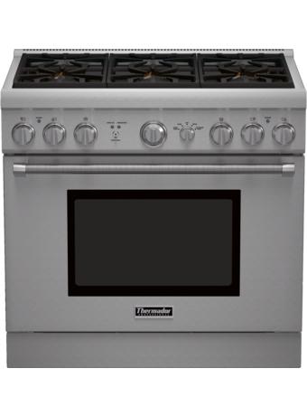 Série Professional Cuisinière au gaz, profondeur standard, 36 po PRG366GH