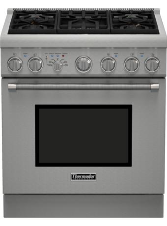 Cuisinière bi-énergie Pro Harmony de 30 po de série Professional de profondeur standard PRD305PH