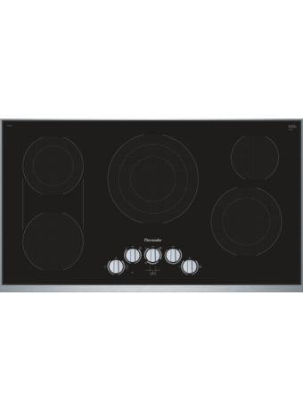 Table de cuisson électrique de 36 po de série MasterpieceMD CEM366TB