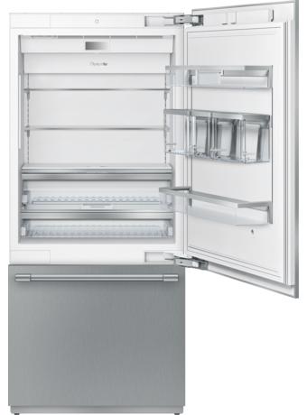 Réfrigérateur encastrable de 36 po à deux portes avec congélateur inférieur T36IB900SP
