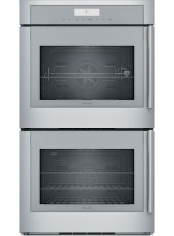 30 Inch Masterpiece® Series Double Wall Oven, Left Side Swing Door MED302LWS