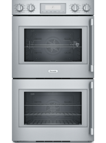 30 Inch Professional® Series Double Wall Oven, Left Side Swing Door POD302LW