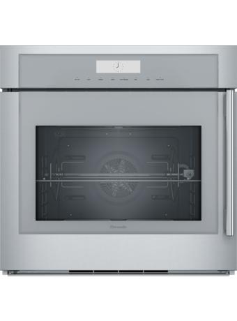 30 inch Masterpiece® Series Single Built-In Oven, Left Side Swing Door MED301LWS