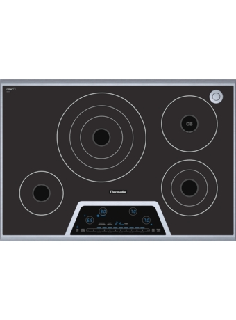 "Masterpiece™ Deluxe 30"" Electric Cooktop with Touch Control and Sensor Dome™ CES304FS"