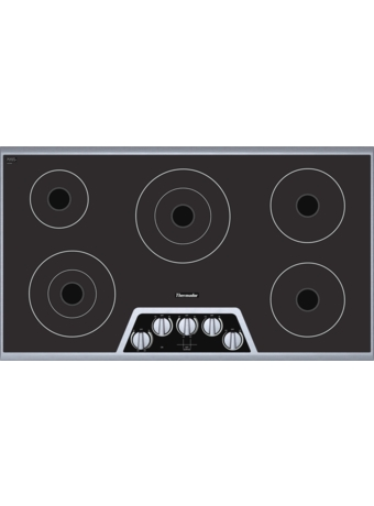 "Masterpiece™ 36"" Electric Cooktop CEM365FS"