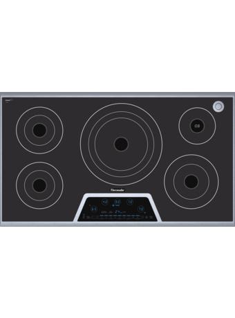 Masterpiece™ Deluxe Table de cuisson électrique de 91 cm (36 po) avec commandes tactiles, fonction Sensor Dome™ et élément pont CES365FS