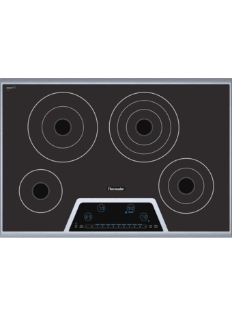 "Masterpiece™ Deluxe 30"" Electric Cooktop with Touch Control CET304FS"