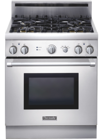 Professional Series 30 inch Gas Standard-depth Range PRG304EH - Stainless Steel