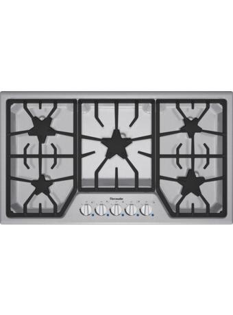 Table de cuisson au gaz de 36 po de la série MasterpieceMD SGS365FS