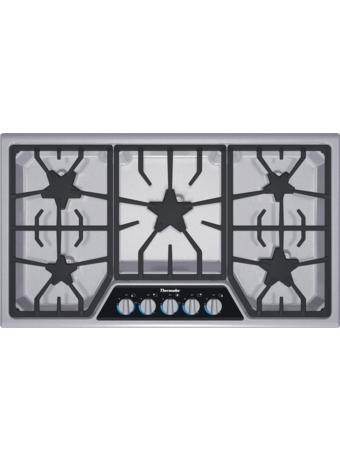 Table de cuisson au gaz de 36 po de la série MasterpieceMD SGSX365FS