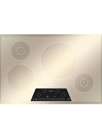 MasterpieceTM Table de cuisson à induction de 30 po Fini miroitant argenté CIT304GM