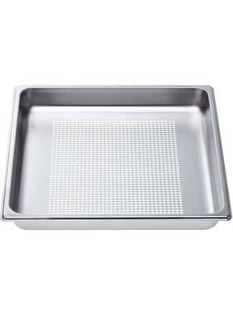 "Perforated pan - full size, 1 5/8"" deep"