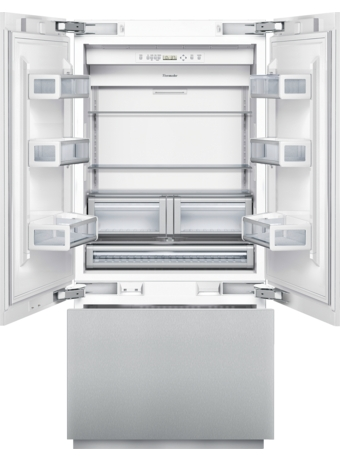 36 inch Congélateur inférieur à portes françaises intégré Modèle T36IT800NP