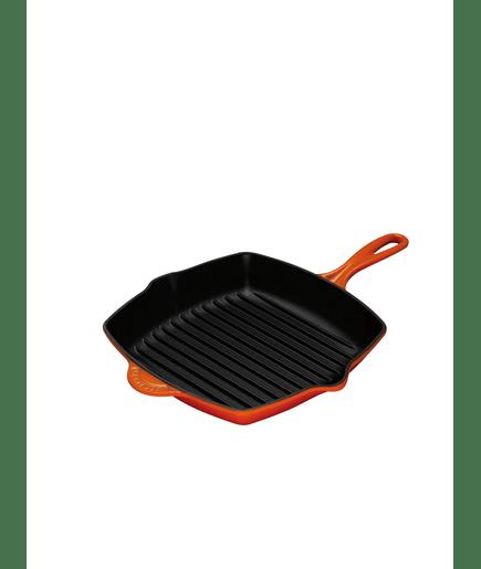 pfanne le creuset skillet grillpfanne quadr 26cm in. Black Bedroom Furniture Sets. Home Design Ideas