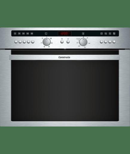 Mikrowellen Kompaktbackofen Edelstahl Cn462253 Constructa