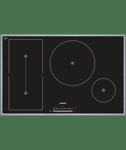 Cornice in acciaio inox piano cottura ad induzione 80 cm for Lavastoviglie siemens istruzioni