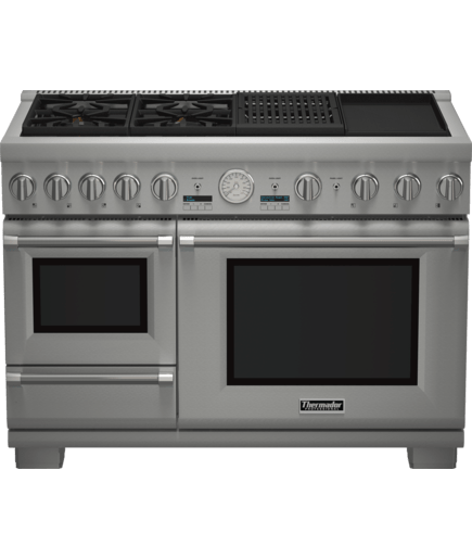 48 inch pro grand commercial depth dual fuel steam range rh thermador com thermador range service manual thermador range repair manual