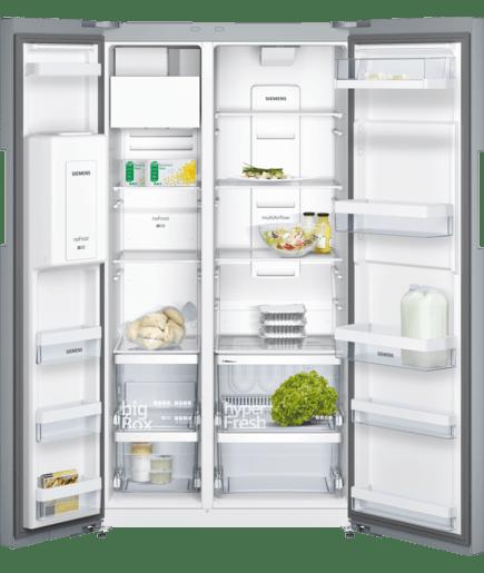 Frigo-congelatore Side by Side inoxDoor - iQ500 - KA92DVI25 | SIEMENS